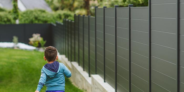 clôture klos-up! classique