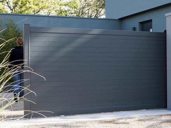 Portail Aluminium Contemporain Concarneau